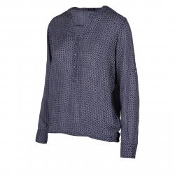 Dámska košeľa s dlhým rukávom AUTHORITY-KAMYLAS dk blue