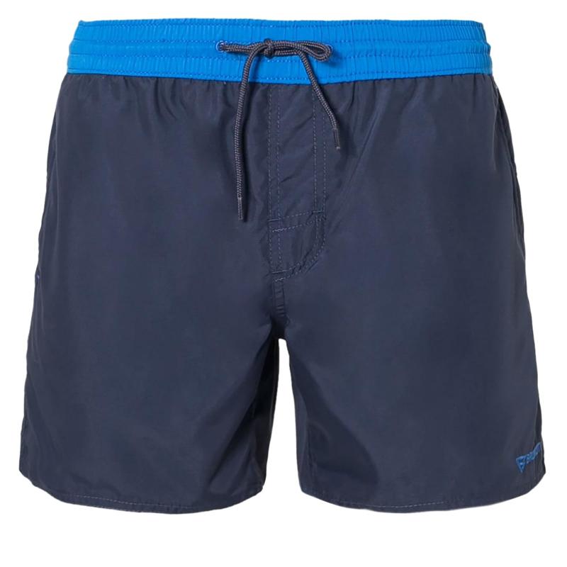 Pánske plavky BRUNOTTI-Clark S Men Shorts-Dark Denim - Pánske plavecké šortky značky Brunotti z rýchloschnúceho materiálu.