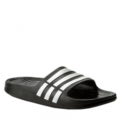 a3996d45a70e Pánska plážová obuv ADIDAS CORE-Duramo Slide black