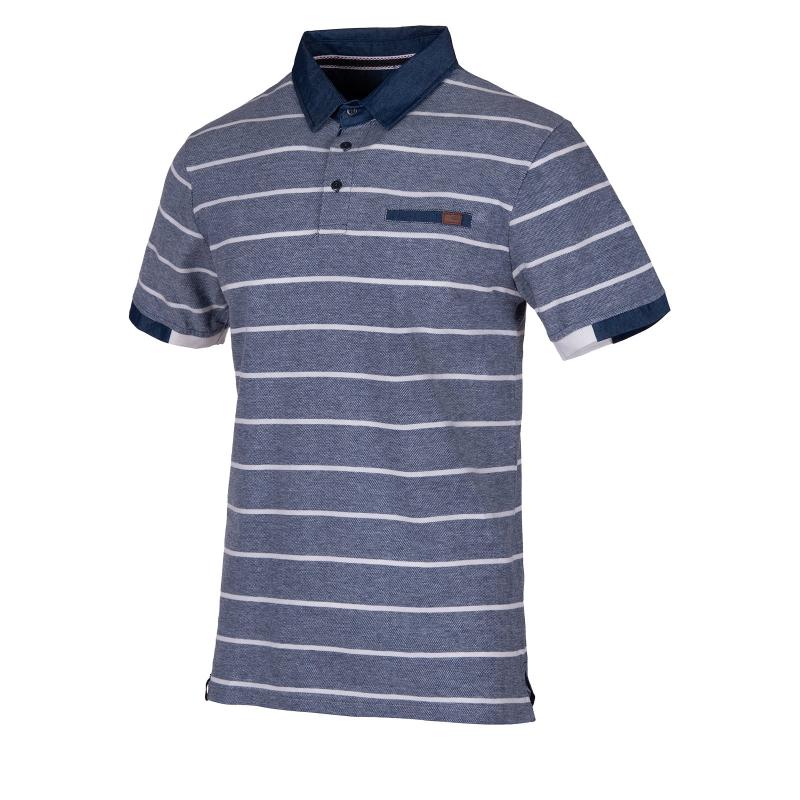 6f08a7ec02a3 Pánske polo tričko s krátkym rukávom AUTHORITY-ELEKMAN blue - Pánske polo  tričko s krátkym