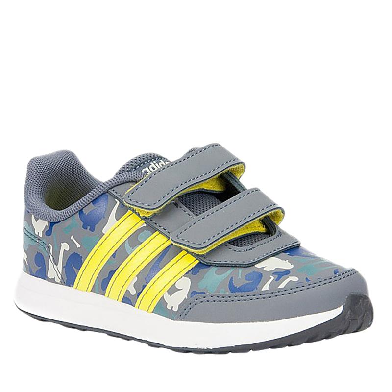 Chlapčenská rekreačná obuv ADIDAS CORE-VS SWITCH 2 CMF INF ONIX/SHOYEL/FTWWHT - Chlapčenské topánky značky adidas core v modernom dizajne.