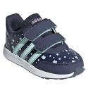 Dievčenská rekreačná obuv ADIDAS CORE-VS SWITCH 2 CMF INF TRABLU/CLEMIN/ONIX - Dievčenská obuv značky adidas core v športovom dizajne.