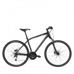 Krosový bicykel KROSS-Evado 6.0 M 28 blck_blue mat