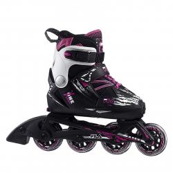 Detské kolieskové korčule FILA SKATES-X-ONE G BLACK/MAGENTA