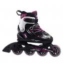 Detské kolieskové korčule FILA SKATES-X-ONE G BLACK/MAGENTA - Detské inline korčule značky Fila skates.