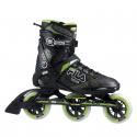 Fitness kolieskové korčule FILA SKATES-PRIMO100 BLACK/GREEN - Kvalitné kolieskové korčule značky Fila skates, ktoré sú ľahké a pohodlné.