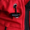 Pánska turistická softshellová bunda AUTHORITY-MARTENIS red - Pánska turistická bunda značky Authority.