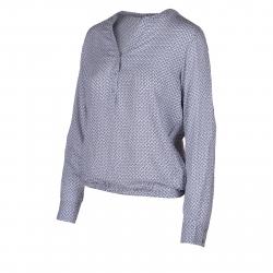 Dámska košeľa s dlhým rukávom AUTHORITY-KAMYLAS lt grey