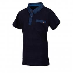 Polo tričko s krátkym rukávom AUTHORITY-ELLEKMAN B dk blue