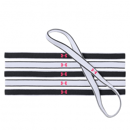 Dámska čelenka UNDER ARMOUR-Girls Mini Headbands (6pk)-WHT