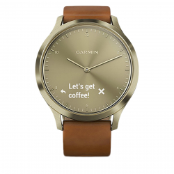 Športové hodinky GARMIN vívomove HR, Premium, Gold, S/M