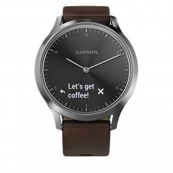 Športové hodinky GARMIN vívomove HR, Premium, Silver, L