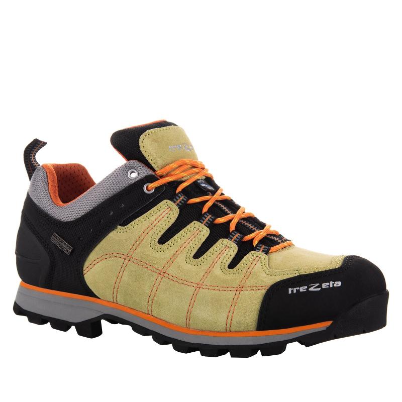 Pánska turistická obuv nízka TREZETA-HURRICANE EVO LOW WP GREEN ... 0d50e67361