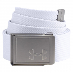 Opasok UNDER ARMOUR-Mens Webbing 2.0 Belt-WHT