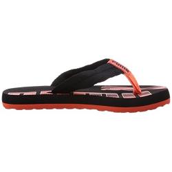 Juniorská plážová obuv PUMA-Epic Flip Jr black-nasturtium