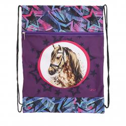 Detské vrecko na prezúvky REYBAG HORSE STAR Taška na prez