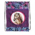 Detské vrecko na prezúvky REYBAG-HORSE STAR Taška na prez MIR - Detské vrecko na prezuvky značky ReyBag s motívom, ktorý si malé milovníčky koní hneď obľúbia.