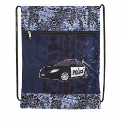 Detské vrecko na prezúvky REYBAG POLICE2 Taška na prez