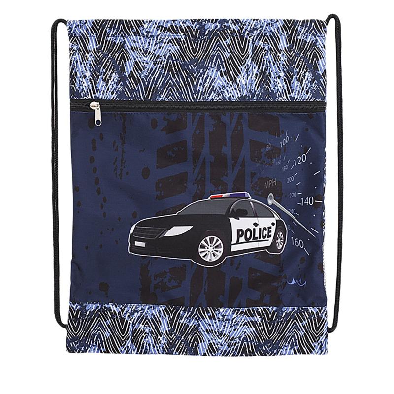 Detské vrecko na prezúvky REYBAG POLICE2 Taška na prez MIR - Detskévrecko na prezuvky značky ReyBag.