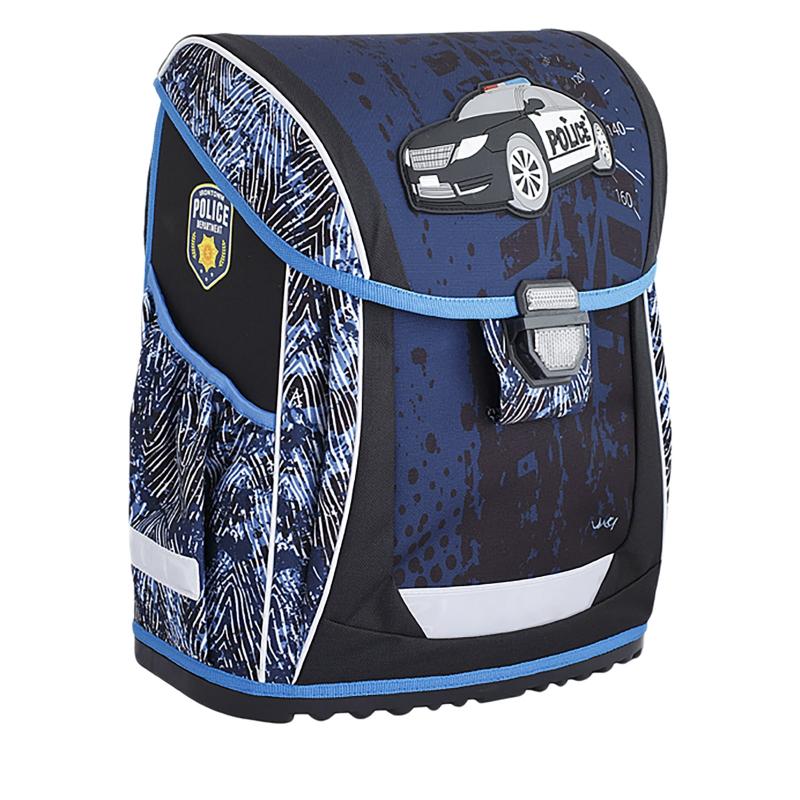 87722df0d1 Detský školský ruksak REYBAG-POLICE2 Škols.taškaREY40222 MIR - Školská taška  značky ReyBag