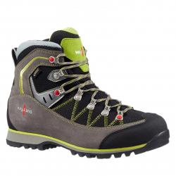 Pánska turistická obuv vysoká KAYLAND-PLUME MICRO GTX GREY/LIME