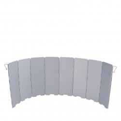 Hliníková veterná clona ACE CAMP Aluminum Windscreen 8 folds
