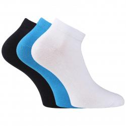 Športové ponožky AUTHORITY-ANKLE SOCK 3 PCK mix blue