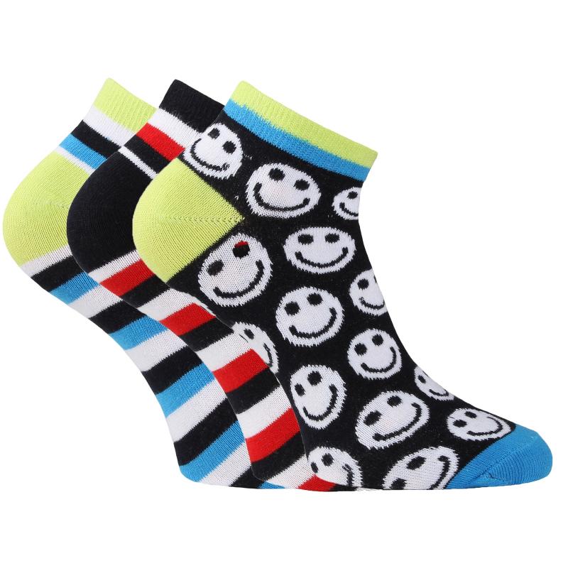 Športové ponožky AUTHORITY-ANKLE SOCK 3 PCK fun blue - Športové ponožky  značky Authority s 502b292064