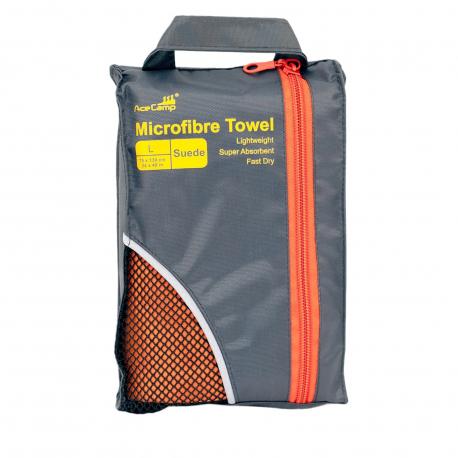 Uterák z mikrovlákna ACE CAMP-Microfibre Towel Suede L, 75x130 cm
