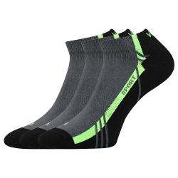 Športové ponožky VOXX PINAS BLACK 05 3 PACK