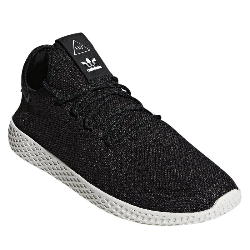 ba3e0412d3581 Rekreačná obuv ADIDAS ORIGINALS-PW TENNIS HU CBLACK/CBLACK/CWHITE