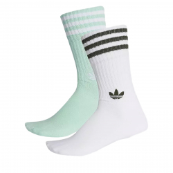 Ponožky ADIDAS ORIGINALS-SOLID CREW 2PP CLEMIN/WHITE/WHITE/NG