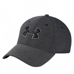 Pánska šiltovka UNDER ARMOUR-Mens Heathered Blitzing 3.0-BLACK