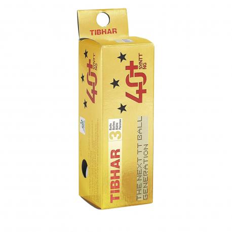 Stolní tenis míčky Tibhar-Balls 40+ synt NG 3pack