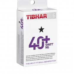 Stolnotenisová karta TIBHAR-Míče TIBHAR 40+ SynTT NG 6 pack