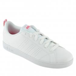 Juniorská rekreačná obuv ADIDAS CORE-VS ADVANTAGE CL K FTWWHT/FTWWHT/SUPPNK