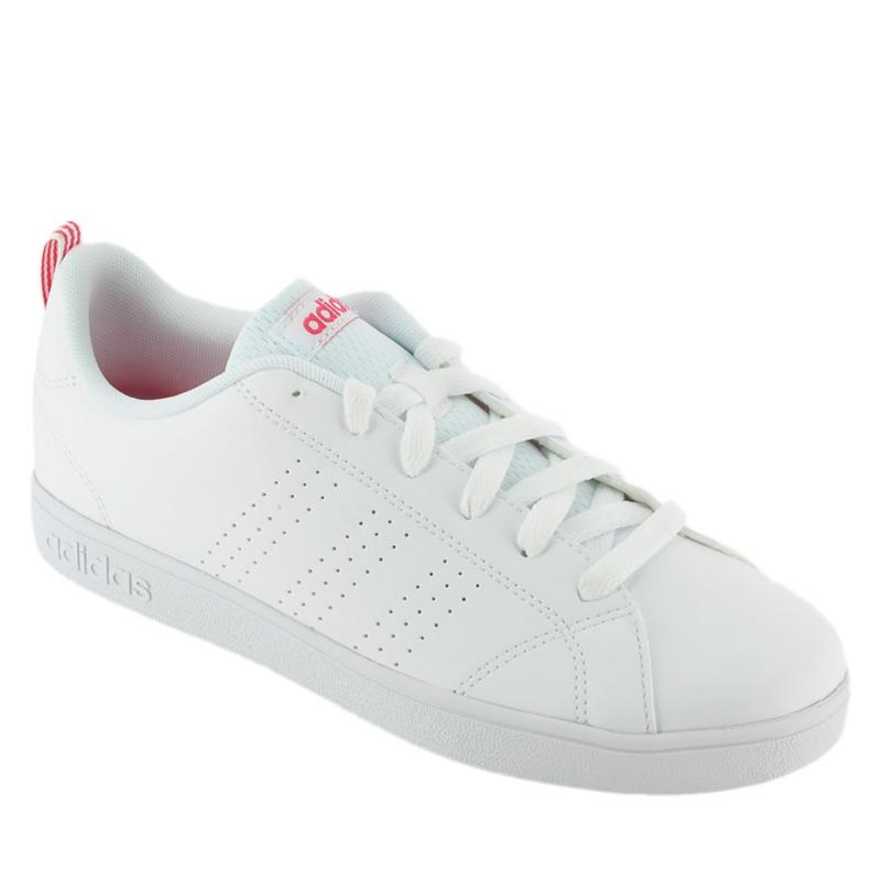 Juniorská rekreačná obuv ADIDAS CORE-VS ADVANTAGE CL K FTWWHT/FTWWHT/SUPPNK - Juniorská rekreačná obuv značky adidas.