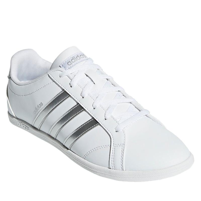 Dámska rekreačná obuv ADIDAS CORE-CONEO QT FTWWHT MSILVE FTWWHT - Dámska  rekreačná e3106b37296