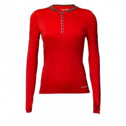 Dámske bežecké tričko s dlhým rukávom LORNAH Gabra sport shirt red