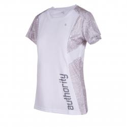 Dámske tréningové tričko s krátkym rukáv AUTHORITY-PROFII RUN W white