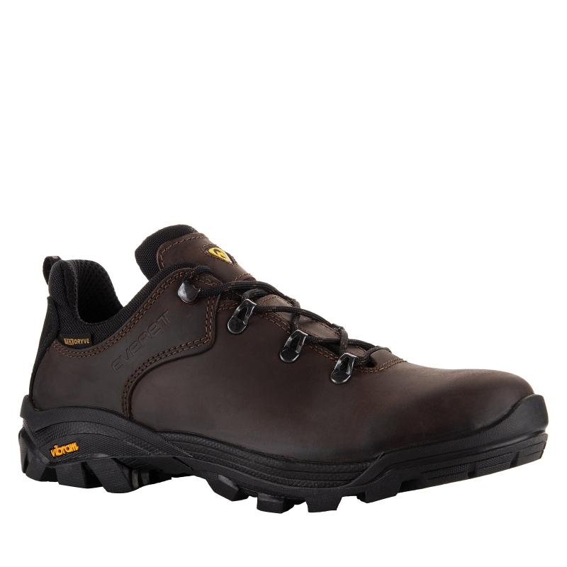 Pánska turistická obuv nízka EVERETT-Borelo - Pánska obuv značky Everett s povrchom z nepremokavej kože.