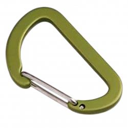 Prívesok na kľúče MUNKEES Karabína plochá 4x40mm
