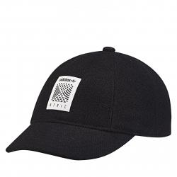 Zimná čiapka ADIDAS ORIGINALS-BASEBALL CAP BLACK