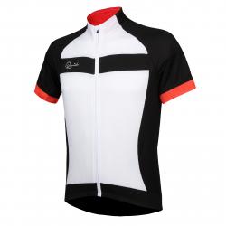 Pánský cyklistický dres s krátkým rukávem RAPIDO-jersey white men