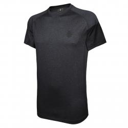 Pánske tréningové tričko s krátkym rukáv BERG OUTDOOR-NAHANNI-MEN-BLACK