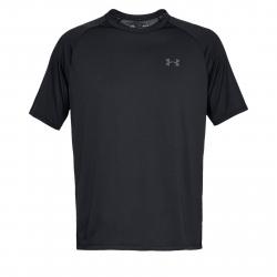Pánske tréningové tričko s krátkym rukávom UNDER ARMOUR-UA Tech SS Tee 2.0-BLK
