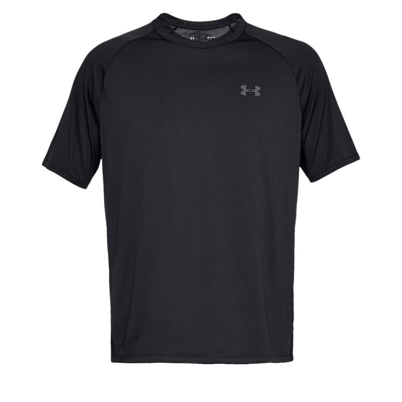 Pánske tréningové tričko s krátkym rukáv UNDER ARMOUR-UA Tech 2.0 SS Tee-BLK 3c435c8c2ae