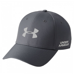 Pánska šiltovka UNDER ARMOUR-Mens Golf Headline 2.0 Cap-GRY