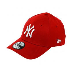 Šiltovka NEW ERA-3930 MBL BASIC NY Yankees RED/WHITE NOS