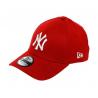 NEW ERA-3930 MBL BASIC NY Yankees RED/WHITE NOS